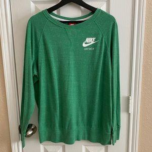 Nike Vintage Kelly Green Sweatshirt sz XL EUC